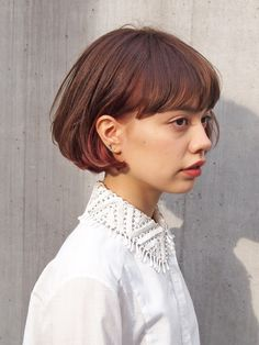 This is what I want my hair to do Cut My Hair, Love Hair, Her Hair, Short Hairstyles For Women, Hairstyles Haircuts, Pretty Hairstyles, Girl Short Hair, Short Hair Cuts, Medium Hair Styles