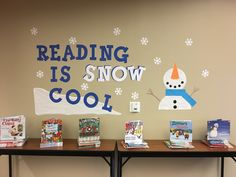 Reading is snow cool!