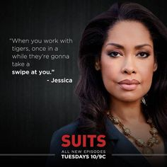 #suits Jessica Pearson (Gina Torres)