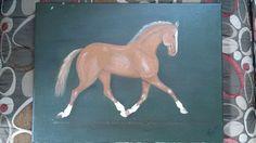 Original Painting by Fabienne Leydecker Equine - 2005