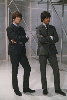 John Lennon and Paul McCartney (1965)