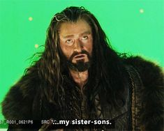 Welcome...my sister's sons, Thorin bts