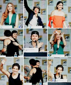 Teen Wolf cast at Comic Con