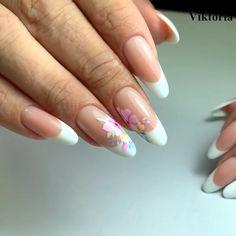 French Nail Art, French Nail Designs, French Tip Nails, Fall Nail Designs, Acrylic Nail Set, Short Square Acrylic Nails, Acrylic Nail Designs, Polygel Nails, Swag Nails