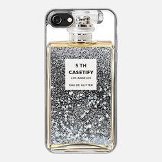 Miss Perfume Glitter iPhone Case - Glitter Case
