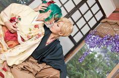 Michiru and Haruka cosplay // https://vk.com/wall-81680937?own=1&offset=20
