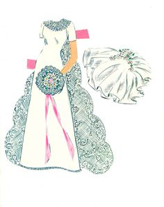 paper doll images | BRIDE AND GROOM PAPER DOLLS – WHITMAN #1989 | Marges8's Blog
