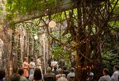 A hidden treasure, Jilly Beans of Hillsdale is a gorgeous place for in intimate wedding ceremony.    Heather K, Infiniti Photography  http://irememberforever.com