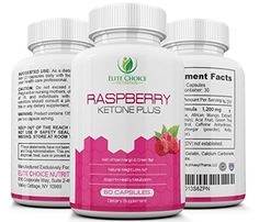 Premium Raspberry Ketone Plus Weight Loss Formula 1200MG with Green Tea  African Mango Maximum Strength Blend Best Fat Burner  Metabolism Booster Manufactured Exclusively for Elite Choice Nutrition -- Details can be found by clicking on the image.