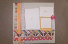 Our Get it Scrapped Page Kit for the week of 9/14/15 at The Doodlebug, Inc in Jasper, Indiana!!