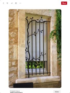 never know when this might be helpful… burglar bars for windows security bars … never know when this might be helpful… burglar bars for windows security bars artistic design wrought iron bars Tor Design, Gate Design, Window Design, House Design, Design Design, Door Grill, Grill Door Design, Home Window Grill Design, Balcony Grill Design