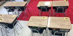 Se hva læreren skrev