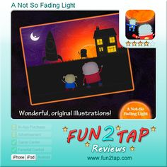 A Not So Fading Light - An Out-of-this-World Adventure. Full review at: http://fun2tap.com/index.cfm#id2277 ----------------------------------------- #storybook #reading #readers #edtech #mlearning #mobilelearning # #kidsapps #kidlit #books #ece #education #homeschool