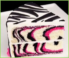 Pink Zebra Cake | Food, glorious food