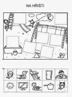 Z internetu - Sisa Stipa - Picasa Web Albums Preschool Learning Activities, Kindergarten Worksheets, Preschool Activities, Kids Learning, School Fun, Pre School, English Worksheets For Kids, Cut And Paste, Kids Education