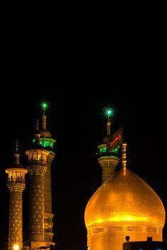 keshmeshak:  Fatima Masooma sa's shrine by Seyed Hossein Bahraini