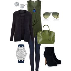 """""""Navy and Olive"""" by carolyn1984 on Polyvore"""