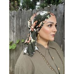 Sherman Oaks, Print Wrap, Hunter Green, Silk Scarves, Head Wraps, Compliments, Your Hair, Floral Prints, Hair Accessories