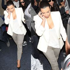 Is Kim Kardashian Dropping Hints About Her Wedding with Her Balmain Jeans?