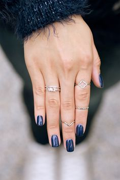 a sparkling ring stack to brighte up your day I NEWONE-SHOP.COM