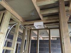 Plumbing for shower head Keith Allen, Stamford, Internal Doors, Shower Heads, Plumbing, House, Showers, Indoor Gates, Home