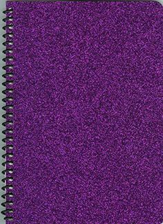 X-tra Pages Larger 9X11.25 Deep Purple Glitter Re-usable Sticker Collecting Album,