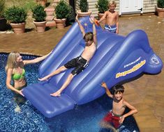 SuperSlide Inflatable Pool Slide $104.95