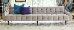 Luxury Furniture   Mid Century Modern Sofas & Sectionals   by Designer Jonathan Adler