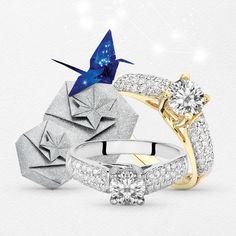 Luksusowy pierścionek z brylantem o masie 1.05 ct wykonany z żółtego, bądź białego złota. Models, Jewelry, Fashion, Templates, Moda, Jewlery, Jewerly, Fashion Styles, Schmuck