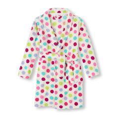 Dot Print Robe   The Children's Place