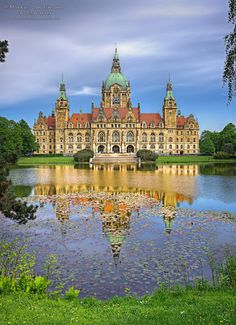 Germany - Hannover - City Hall by Markus Landsmann