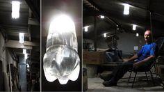 Botellas de plástico PET se convierten en eficaces lámparas de 50 W