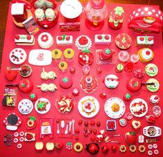 Miniaturas para casa de muñecas.