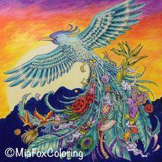 Done #animorphia #kerbyrosanes #coloring #colouring #coloringforadults…