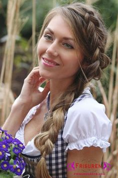 61 Best Oktoberfest 2018 Dirndl Frisuren Images Ale Beautiful