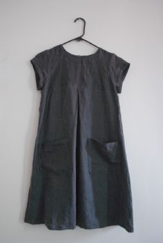 Japanese linen dress