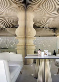 Cafe Graffiti in Varna - Winner of both the Europe and best international bar categories in the 2012 Restaurant & Bar Design Awards