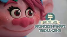 This tutorial will show you how to make a bright pink 3D Poppy Troll cake. I have had so many requests for this one that I thought I had best watch the film ...