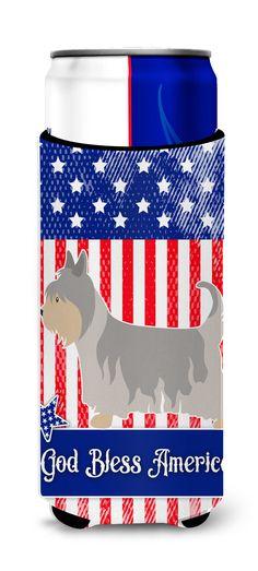 Australian Silky Terrier American Michelob Ultra Hugger for slim cans BB8388MUK