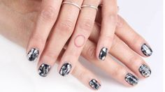 How To Create Edgy Graffiti Nails -Cosmopolitan.com #tutorial