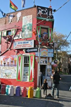 Doesn't get more whimsical than Dutch Dream. Yum! www.dutchdreams.ca/ (Toronto Fun Places: How to use Toronto Fun Places 5th edition)