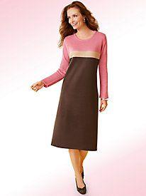 Salon Studio Colorblock Sweater Dress