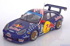 Porsche 911 (996) GT3-R, Daytona 2002, No.7, Quester/Riccitelli/Vasse/Said. Auto Art, 1/18, No.80272. 130€