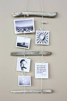Ideas para decorar con recuerdos de las vacaciones