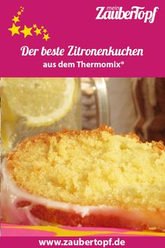 The best lemon cake in the world from Thermomix® - Photo: Nicole Stroschein Seafood Appetizers Seafood Appetizers Appetizers Appetizers for a crowd Appetizers parties