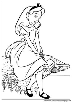 Coloring pictures and pics of Alice in Wonderland. Images of Alice in Wonderland. Photos of Alice in Wonderland. Disney Coloring Pages, Coloring Pages To Print, Colouring Pages, Printable Coloring Pages, Adult Coloring Pages, Coloring Sheets, Coloring Books, Coloring Pictures For Kids, Coloring Pages For Kids