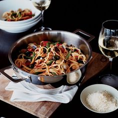Spaghetti with Clams and Green Beans | Food & Wine