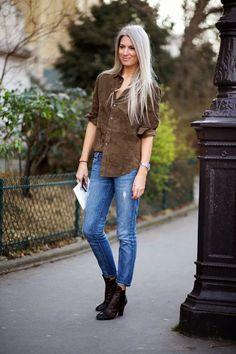Parisienne: BROWN SUEDE