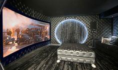 Very Cool Home Cinema with anamorphic screen