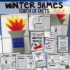 Engage your students in a hands-on learning experience by bringing the Winter Games to YOUR classroom. This unit includes lesson plans, a book about the 2018 Winter Games, a PowerPoint presentation, A presentation/book that includes photographs of all of the winter sports, close reading passages, printables, activities, crafts, and SO MUCH MORE!